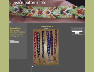 peacepattern.info screenshot