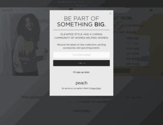 peach.company screenshot