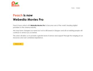 peachdigital.com screenshot