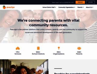 peachjar.com screenshot