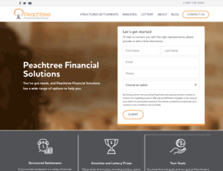 peachtreefinancial.com screenshot
