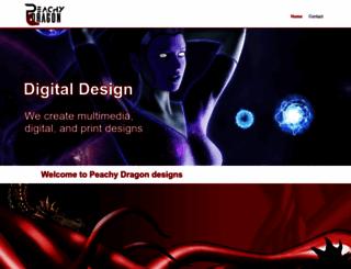 peachydragon.com screenshot