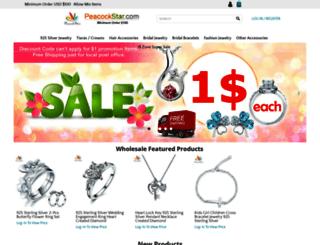 peacockstar.com screenshot