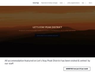peakdistrict-nationalpark.com screenshot