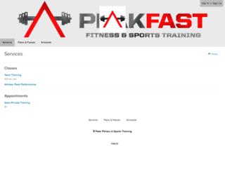peakfast.frontdeskhq.com screenshot