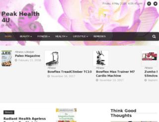 peakhealth4u.com screenshot
