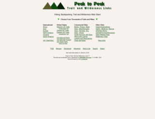 peaktopeak.net screenshot