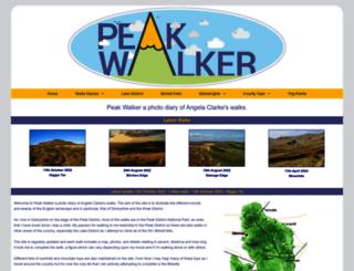 peakwalker.net screenshot