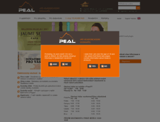 peal.cz screenshot