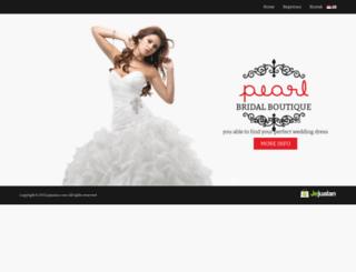 pearl.jejualan.com screenshot