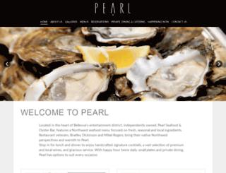 pearlbellevue.com screenshot