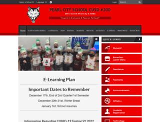 pearlcityps.schoolwires.net screenshot
