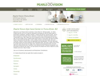 pearlevisionnj.com screenshot