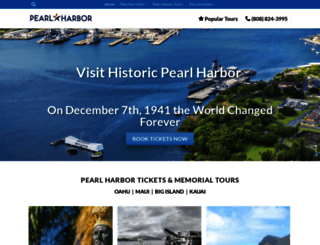 pearlharboroahu.com screenshot