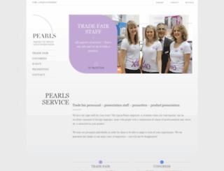 pearls-service.de screenshot