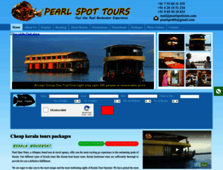 pearlspottours.com screenshot