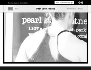 pearlstreetfitness.com screenshot