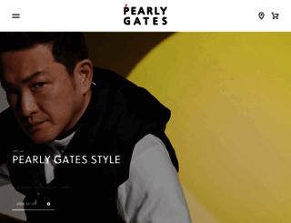 pearlygates.sanei.net screenshot