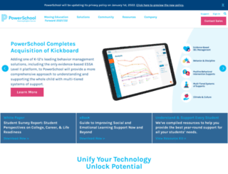 pearsonschoolsystems.com screenshot