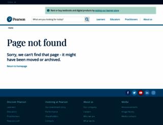 pearsonsuccess.net screenshot