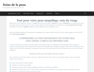peau-tranquille.com screenshot