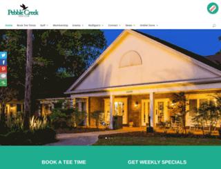 pebblecreekclub.com screenshot