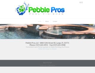 pebblepros.com screenshot