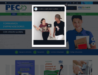 pec-educacion.edu.co screenshot