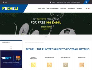 pecheli.net screenshot