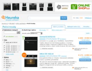 pecici-trouby.heureka.cz screenshot