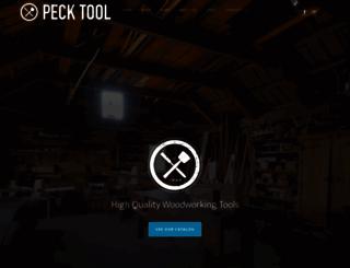 pecktool.com screenshot