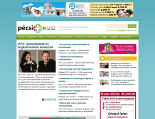 pecsiplusz.hu screenshot