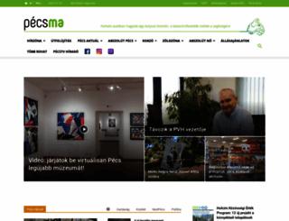 pecsma.hu screenshot