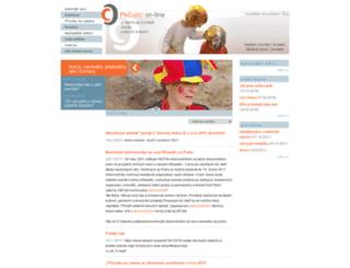 pecujici.cz screenshot