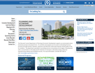 ped.macombgov.org screenshot