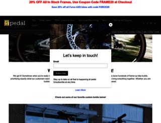 pedal-online.com screenshot