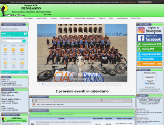 pedalando.org screenshot