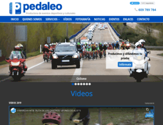 pedaleo.com screenshot