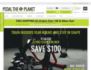 pedaltheplanet.com screenshot