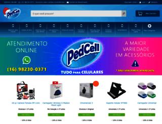 pedcell.com.br screenshot