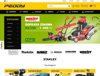 peddy.cz screenshot