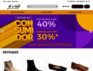 pedeanjo.com.br screenshot