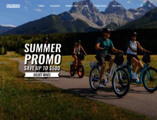 pedegoelectricbikes.com screenshot