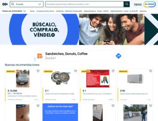 pedernales.olx.com.ec screenshot