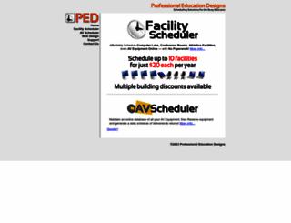 pedesigns.com screenshot