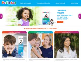 pedia-lax.com screenshot