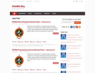 pediawikiblog.blogspot.com screenshot