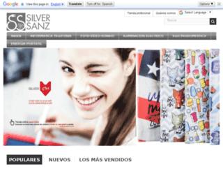 pedidos.silversanz.com screenshot