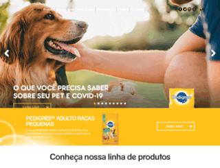 pedigree.com.br screenshot