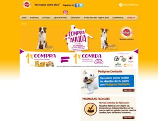 pedigree.es screenshot